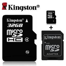 Kingston micro sd card class 4 memory card 4gb 8gb 16gb 32gb cartao de memoria microsd tarjeta micro sd flash tf SDHC card brand