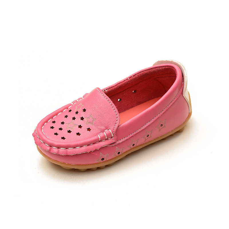 2016 Autumn Baby Girls Shoes For Dress Hollow Kids Casual Shoes For Girls Peas Soft Children's Shoes Girl Boats Loafers Party(China (Mainland))