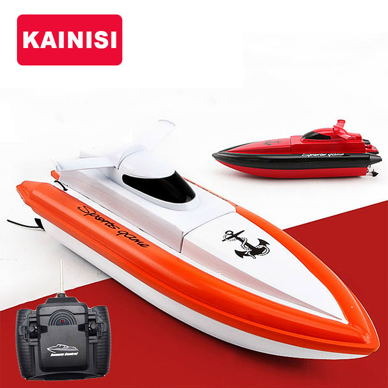 radio control RC N800 speed boat remote lithium battery electric ship dual motor  -  -KAINISI- Store store