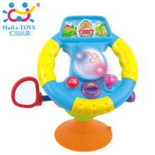 2014 New Musical toys Electronic Plastic Mini steering wheel Car model Educational toy for Children/kids Baby gift Free shipping(China (Mainland))
