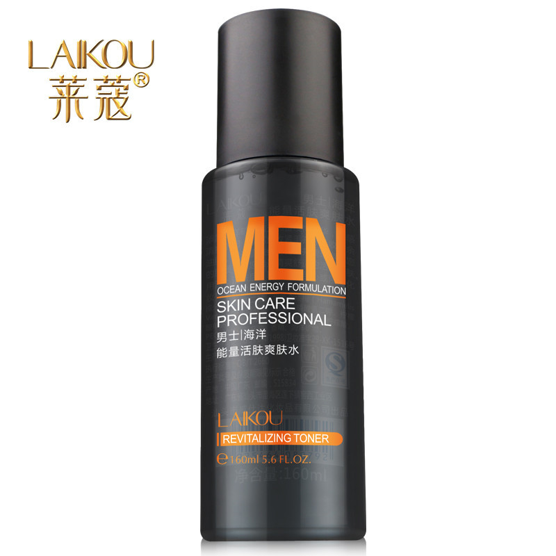 LK Men's Oil-control Liquid Whitening Moisturizing Skin Care Lotion Men's Toner Aftershave Toner Shrink Pores Face Care Liquid(China (Mainland))