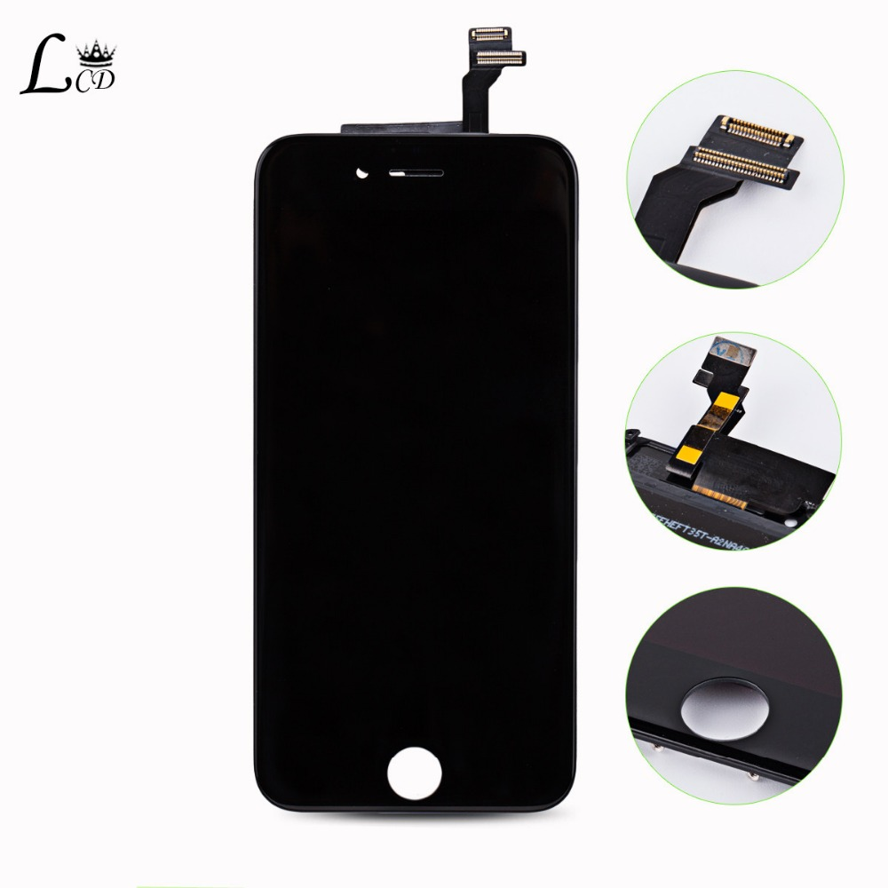Фотография White&Black LCD Display Digitizer For iPhone 6 4.7 inch Touch Screen Digitizer Assembly  For iPhone lcd 6G Free Shipping