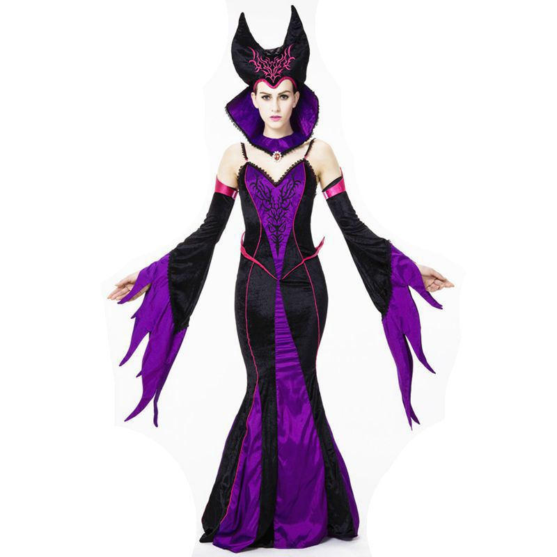 Witch costume Vampire Carnival Halloween costumes for women cosplay costume vestidos medievais victorian dress disfraces roupasОдежда и ак�е��уары<br><br><br>Aliexpress