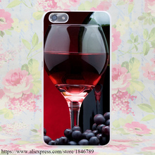 1095J Red Wine Bottle Hard White Case Cover Huawei Ascend P9 Lite Plus P8 P7 P6 G7 & Honor 4C 4X 6 7 - Good Price Store store