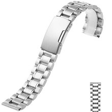 Hot Sales Replacement Stainless Steel Link Bracelet Strap Band for Watch 18 20 22 24MM