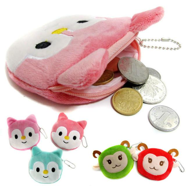 Скидки новые милые дети мини монет сумки свободного покроя мультфильм прекрасный ...
