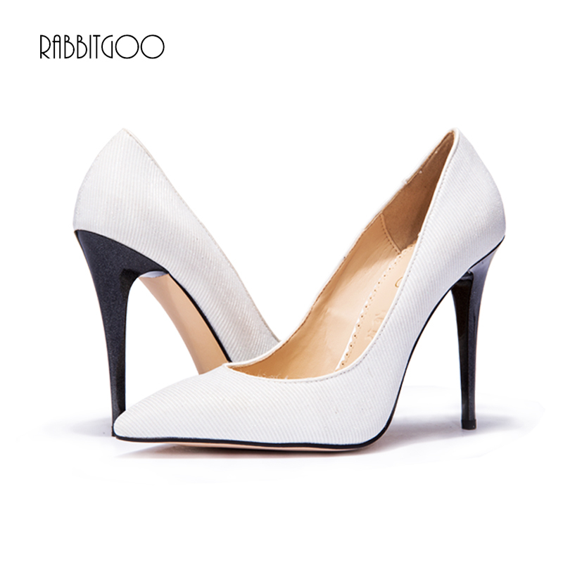 Fashion Women shoes sexy high heels women Pumps Pointed ladies shoes Party wedding shoes valentine shoes escarpins RabbitGoo(China (Mainland))
