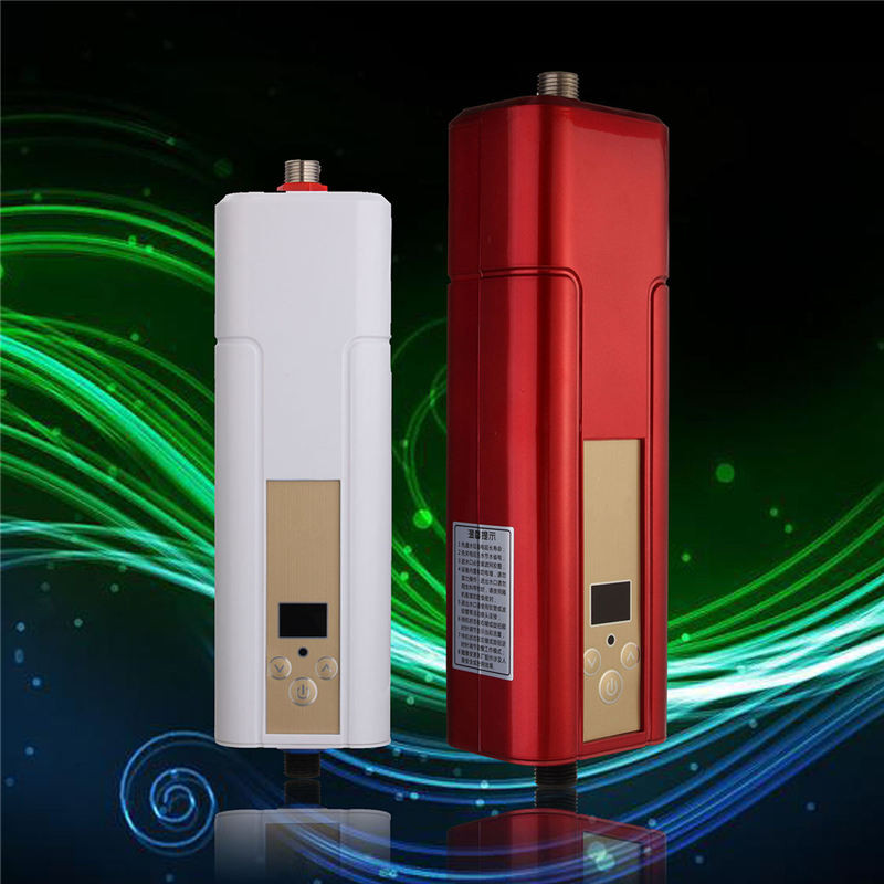 5500w household tankless water heater tap electric water for 4 bathroom tankless water heater