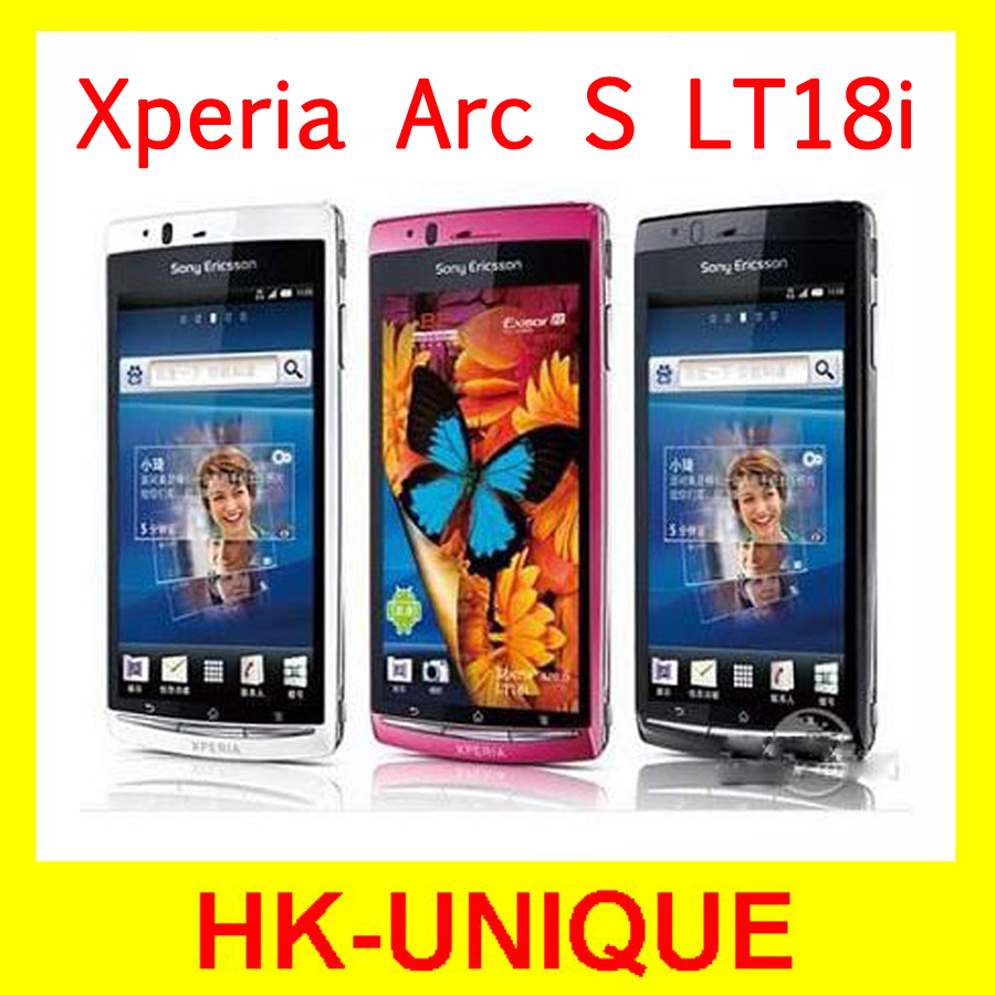 Original Sony Ericsson Xperia Arc S LT18i 3G Network WIFI GPS 4.2 Inch Touch Screen 8MP Camera Mobile Phone Free Shipping(China (Mainland))