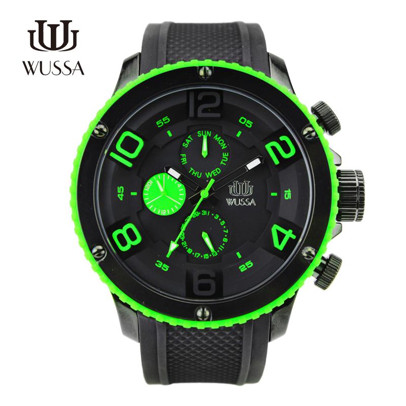 Original WUSSA han edition ultra-thin men women dial the fashion leisure brand authentic luxury fashion sports watches<br><br>Aliexpress
