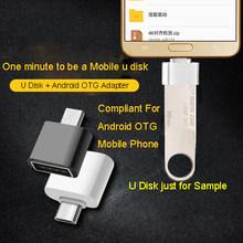 Disco feito sob encomenda do metal da vara da movimentação 128gb da pena das movimentações do flash de kingston #32gb 16gb 64gb com correia para chaves pendrive para o telefone celular(China)
