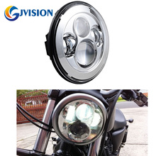 Buy DOT SAE Approved 7 inch Chrome led projector Daymaker Hi/Lo Beam headlights Motorcycle Harley Street Glide Softail FLD for $47.94 in AliExpress store
