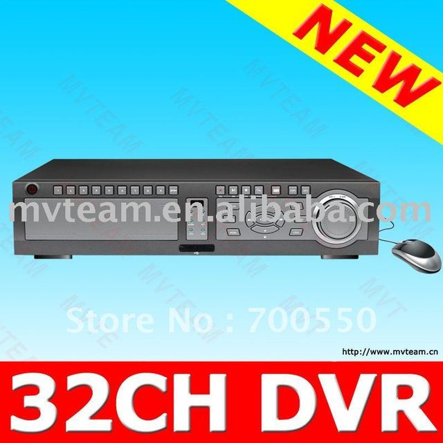 32ch 1920X1080i CCTV DVR Recorder For Big Project For Norway