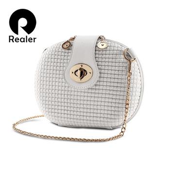 New small crossbody bags for women messenger bags candy color leather chain handbag mini female orange shoulder bag