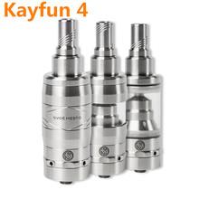 Electronic Cigarette Steelseries Kayfun V4 4 Atomizer VS Kayfun Lite Pus 3.1 Taifun GT Fit  Istick Vape Hammer Nemesis Mod X8269