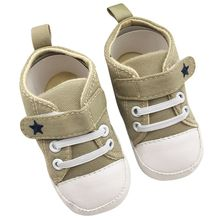 2016 Infant Toddler Baby Shoes Soft Sole Crib Shoes No-Slip Canvas Sneaker First Walkers Hot Selling(China (Mainland))