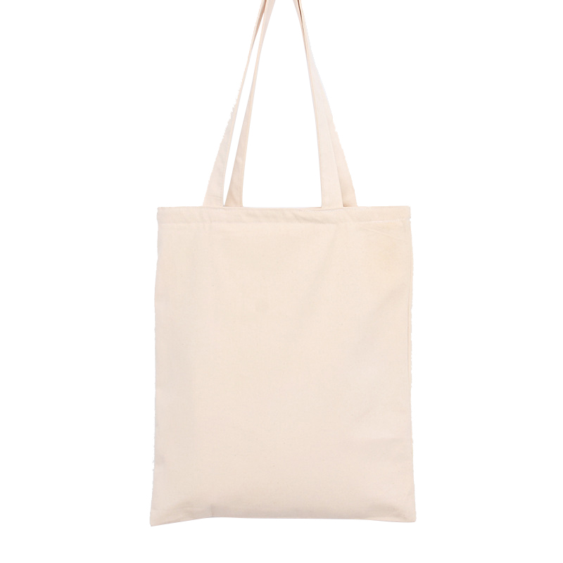 2016 New Arrival Women Men Foldable Shopping Bag Champagne Color Canvas Cotton eco Bag Reusable Shopping Bag Grocery Tote Bags(China (Mainland))