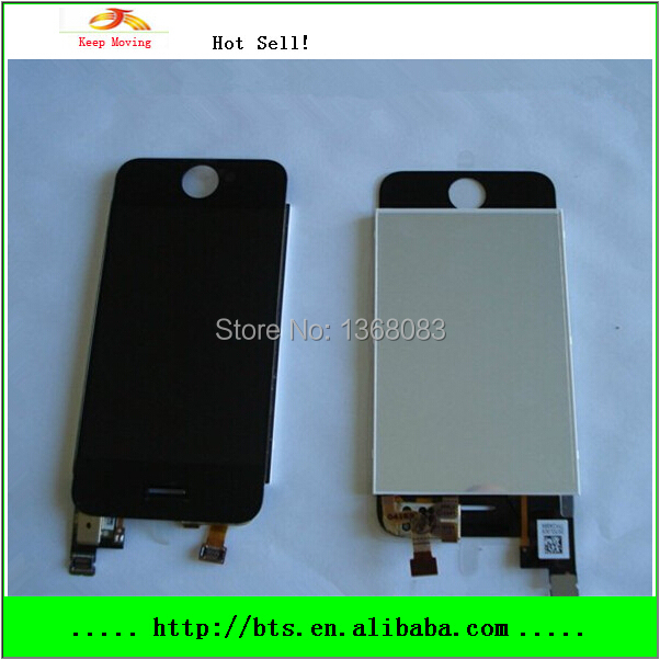 Black LCD Screen Display with Touch Screen Digitizer Full Front for iPhone 2G LCD Assembly(China (Mainland))