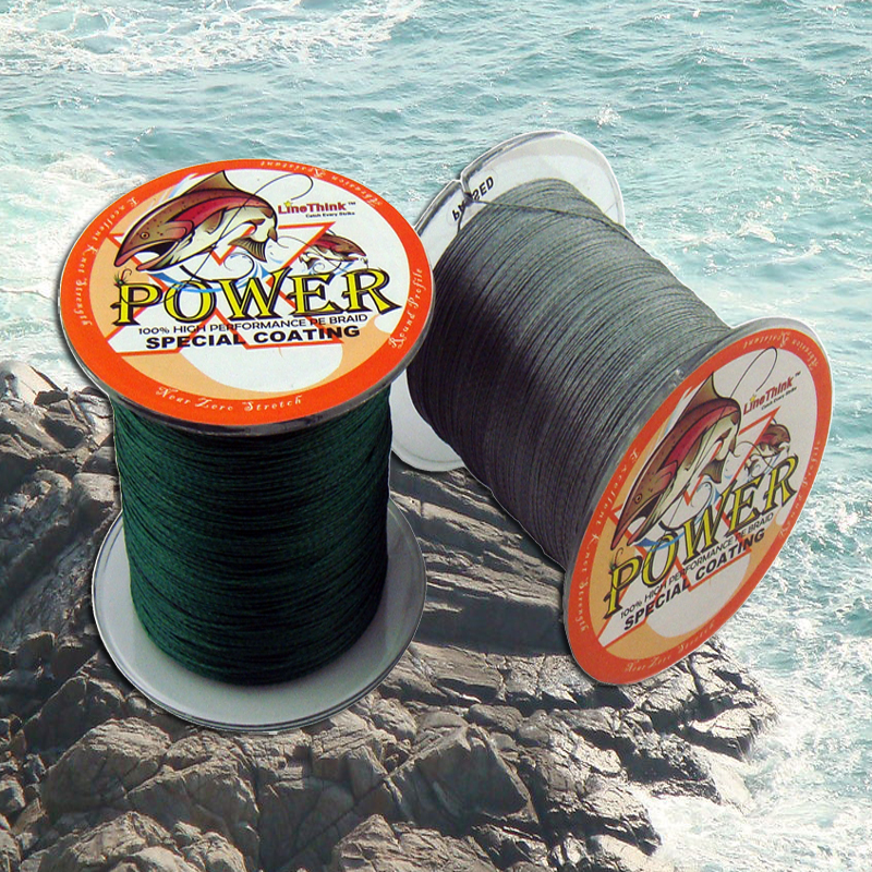 300m Power Line Fiber From Japan 4 STRANDS 4strands braided fishing line 500 multifilament fishing line(China (Mainland))