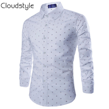 Camisa Casual Estampada Slim Fit