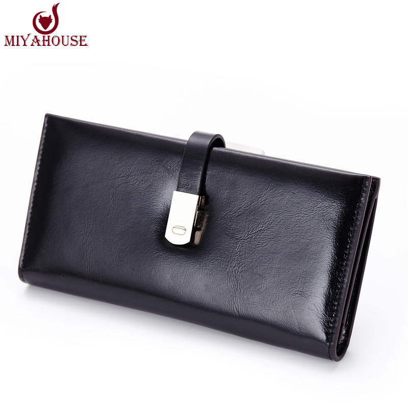 New Fashion Women Long Wallets Candy Color Women Hasp Clutch Purses Female Card Holder Wallet Leather Female Coin Purse Wallets(China (Mainland))