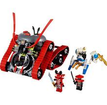 Caliente venta Bela 9794 335 unids Phantom Ninjago Ninja Garmatron modelo bloques huecos de los niños juguetes de ladrillo compatibles con Lego