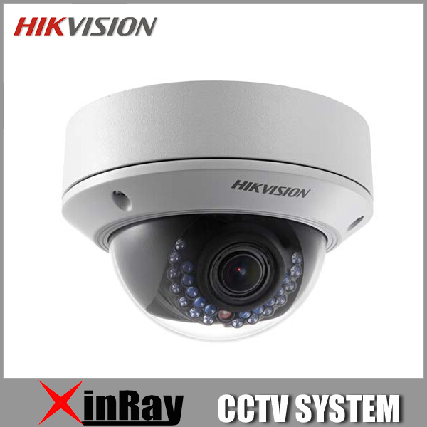 Камера наблюдения HD 3MP Hikvision v5.2.5 ds/2cd2732f/i vari 2.8/12 POE IR IP CCTV DS-2CD2732F-I(S) hd bullet ip camera 4mp 3mp outdoor with poe 2592 1520 2048 1536 3 6mm lens cctv security camera realtime ir 20m night vision