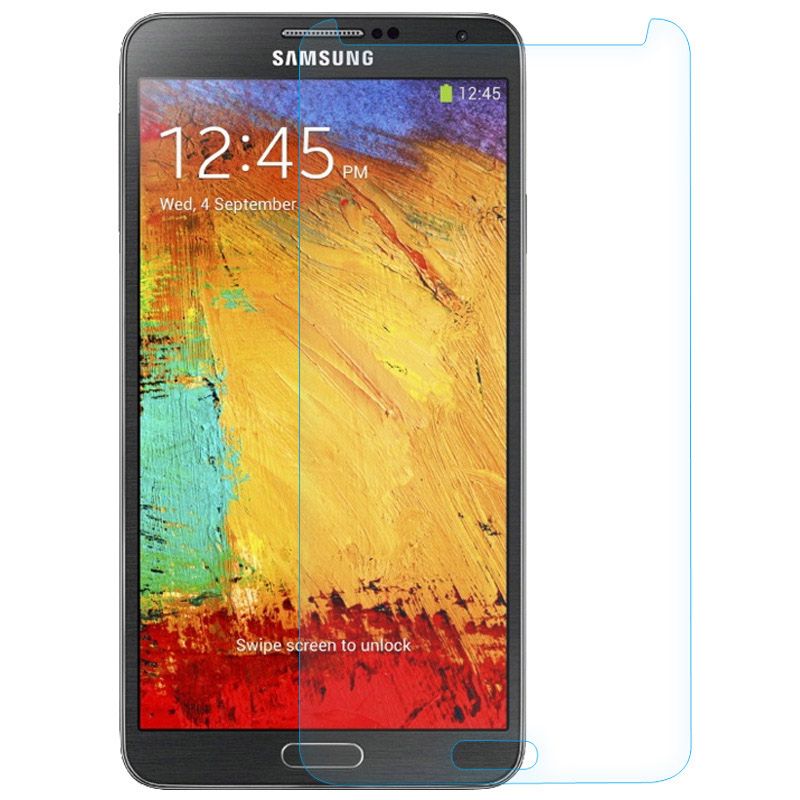 Anti-knock 9H 0.3 mm untuk For Samsung Galaxy Note 3 Popular brands toughened glass Screen protective Film(China (Mainland))