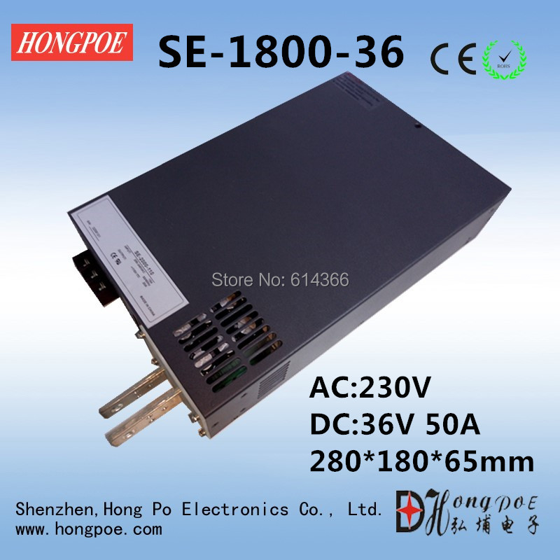Free Shipping AC110 or 230V DC 0-36v power supply 36V 50A ac -dc 36V adjustable power AC-DC High-Power PSU 1800W<br><br>Aliexpress