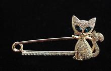 cat brooch promotion