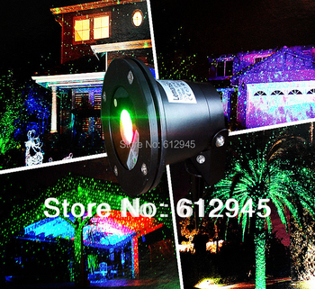 New type Waterproof laser Landscape lighting for outdoor.Sky star Green Red laser Projector stage light for outside garden lawn