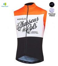 17 スタイル Morvelo 冬熱熱サイクルのベスト男性暖かいノースリーブジャージフリーサイクリングジャージ自転車服のベス(China)