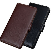 NC15 genuine leather card slots phone cover Asus Zenfone 2 Laser ZE550KL case Laser(5.5') back - XQTC store