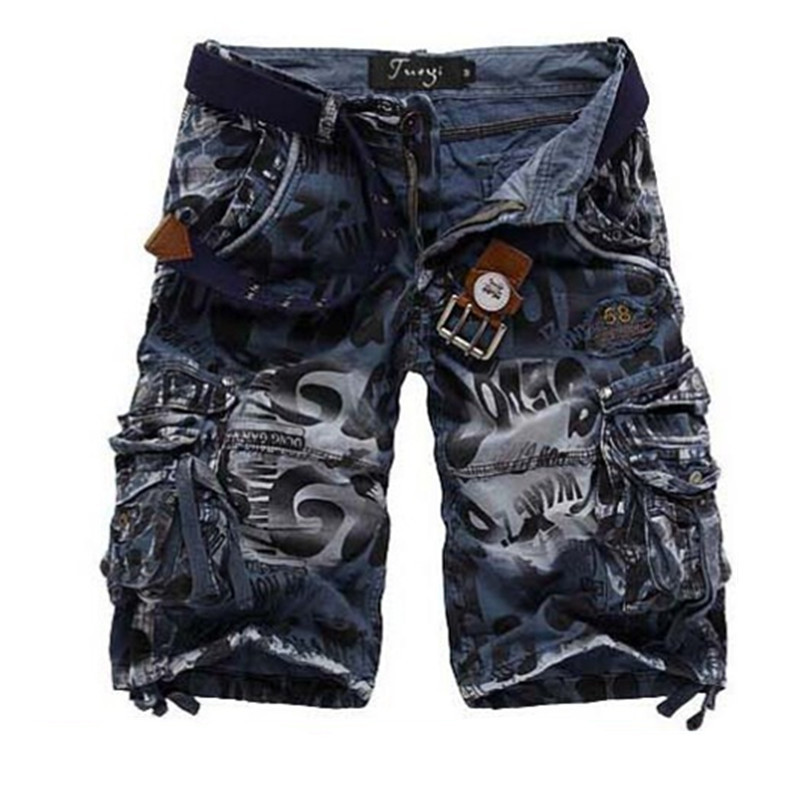 Men Cargo Shorts Camouflage 2015 New Camo Fitness Casual Sports Autumn Summer Fashion For Mens Military Short Big Size  T580(China (Mainland))