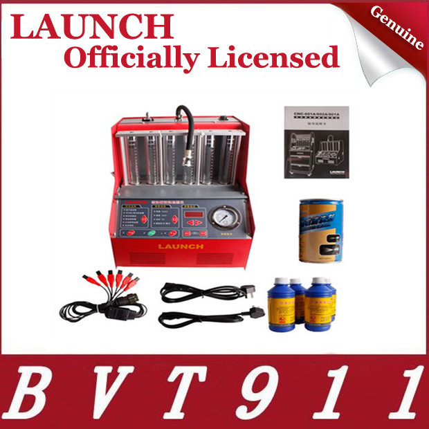 Hot Selling 100% Original Launch CNC 602A Injector Cleaner & Tester with English Panel Launch CNC602A CNC-602A Free Shipping(China (Mainland))