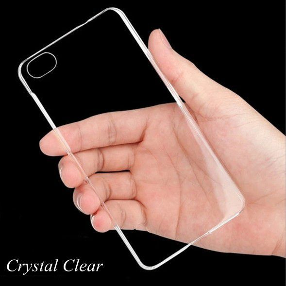 TOP Quality $0.69 Ultra Thin Slim Hard Plastic Transparent Case for iphone 6 & 6 Plus Crystal Soft TPU Cover Two Size Attention(China (Mainland))