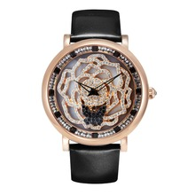 New Arrival Princess Butterfly Women Luxury Watch Lady Hot Rose Rotate Crystal Wristwatch Leather Band PB Gift Watch Box Handbag(China (Mainland))