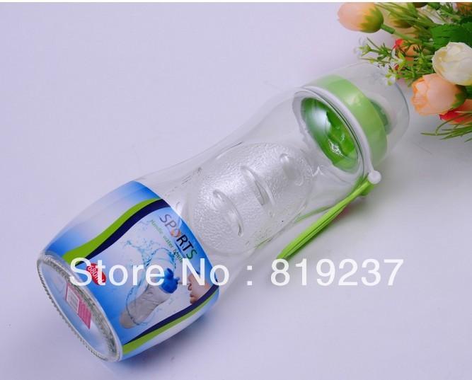 Custom Printed Logo Glass Sport Bottles,Custom made  Advertising Promotional Glass Sport Bottles,Wholesale Custom Sport Bottles