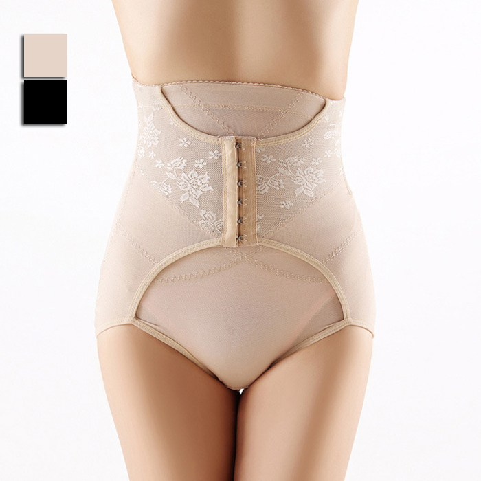 Women Underwear High Waist Slimming Pants Control Panties Postpartum Body Shaper Ladies Inimates XC0006 Asian/Tag Size M,L(China (Mainland))