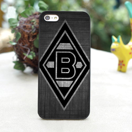 Borussia Monchengladbach Logo fashion cover case for iphone 4 4s 5 5s 5c for 6 & 6 plus(China (Mainland))
