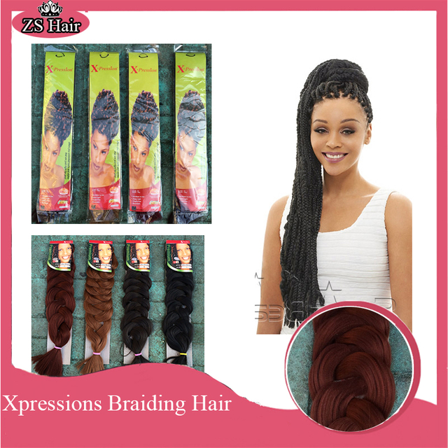 Curly Crochet Braids Xpression : 165g 82inch Box Braids Hair Extensions Super Long Crochet Braids Curly ...
