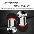 YPZ-ET300 High Quality 3.5mm Earphones Super Bass headset With Mic For IPhone 5 5S  6 Plus Samsung MP3