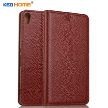 Buy Case Sony Xperia C6, KEZiHOME Genuine Leather Flip Stand Leather Cover Sony Xperia XA Ultra 6.0'' Phone cases Co.,LTD) for $11.18 in AliExpress store