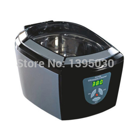Фотография 1pcs 220 ~ 240V Timer Jewelry Dental Watch DVD VCD 5 Cycles Codyson CD-7810A Ultrasonic Cleaner free shipping by DHL