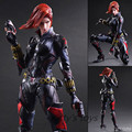 Black Widow PlayArts Kai Action Figures Captain America Romanova 270mm PVC Anime Model Toys Black Widow