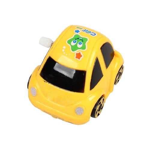 FS Wholesale Yellow Plastic Wind-up Clockwork Racing Car Toy for Children<br><br>Aliexpress