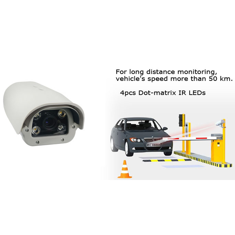 Professional 700TVL Waterproof IP66 Car Plate Number License Plate Recognition LPR IP camera for Entrance/Parkinglot(China (Mainland))
