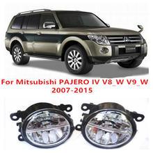 Mitsubishi PAJERO IV V8_W V9_W 2007-2015 Fog Lamps LED Car Styling 10W Yellow White 2016 new lights - E-J Fifi AUTO store