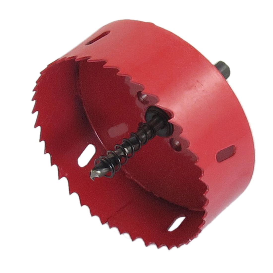 Twist Drill Bit Iron Aluminium Alloy Cutting 100mm Diameter Bimetal Hole Saw