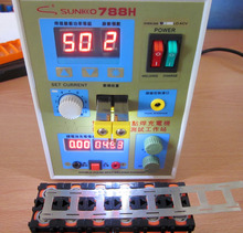 2016 LED Pulse Battery Spot Welder Applicable Notebook Phone Battery Precision Welding Machine with Pedal POWER 788H(China (Mainland))